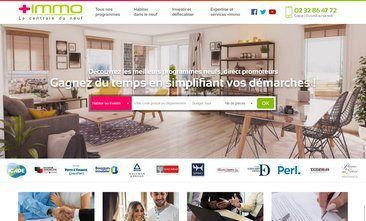 +immo - Site immobilier